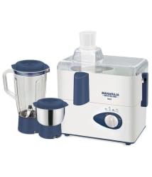 Maharaja Whiteline Real JX-207 450 Watt 2 Jar Juicer Mixer Grinder
