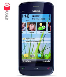 CERTIFIED USED Nokia C5-03 (Black, 6 Month Seller Warranty ) (With Compatible Battery & Charger)