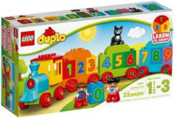 Lego Number Train Multicolor