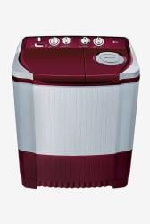 LG P8073R3FA 7 Kg Semi - Automatic Top Load Washing Machine (Burgandy)
