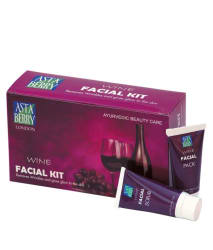 Astaberry Mini Wine Facial Kit Set Of 4