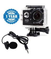 Captcha 12.1 MP Action Camera