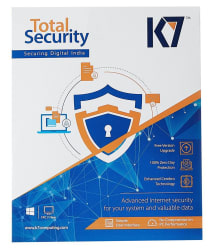 K7 Total Security Latest Version ( 3 PC / 1 Year ) - Activation Code-Email Delivery