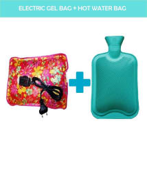 Combo of Electric Gel Bag and Hot Water Bag