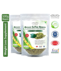 Sinew Nutrition Green Coffee Beans 250 gm Unflavored Pack of 2