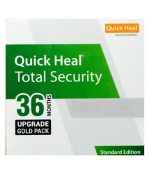 Quick Heal Total Security Upgrade Pack Latest Version ( 1 PC / 3 Year ) - Activation Code-Email Delivery