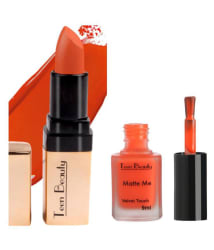 Teen Beauty Creme Lipstick Orange Burst With Fill My Desire 20 gm Pack of 2