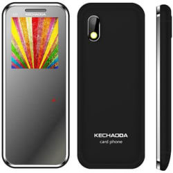 Kechaoda K33 Card Phone (Dual Sim, 1.44 Inch Display, Bluetooth Dialer, 460 Mah Battery)