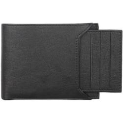 YGREEN Stylish Artificial Leather Men s Wallet - Black Color