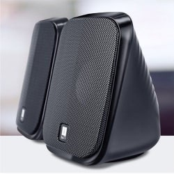iBall Decor 9 2.0 Speakers - Black