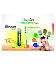 Nutree Pure Migraway Roll 10 ml Oil - Pack of 3