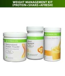 Ultimate Weight Management Program -Herbalife F1 Shake Mix Mango Flavour 500Gm,Protein Powder 200 gm & Afresh Lemon Flavour 50 gm