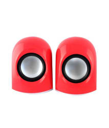 KolorFish S630 2.0 Multimedia Speakers-Red for Laptop, PC, Mobiles & More