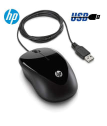 HP X1000 USB Wired Optical Mouse (USB, Black)