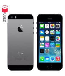 CERTIFIED USED Apple iPhone 5S 16GB Space Grey RAM- 1 GB ( 3 Month Seller Warranty )