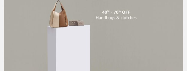 40% - 70% off Handbags and clutches