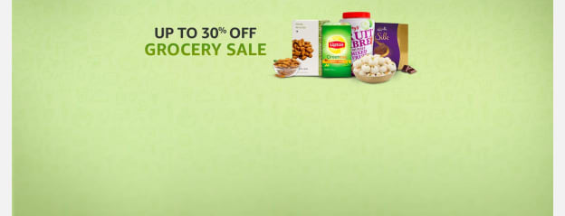 Up to 30% off : Grocery sale