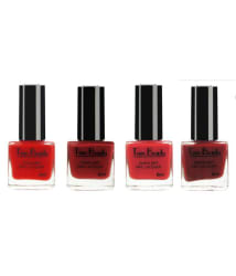 Teen Beauty Nail Polish 4 in 1 Combo No.-588 Glossy 32 ml Pack of 4