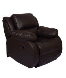 Hi5 Seating James Recliner in Brown