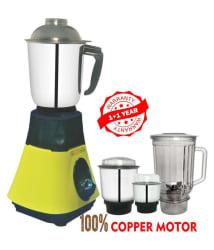 LONGWAY SUPER DLX 750 Watt 4 Jar Mixer Grinder