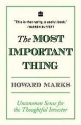 The Most Important Thing (Paperback)