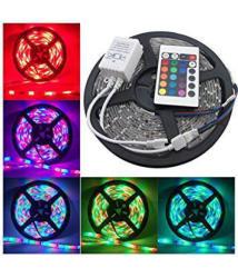 ReBuy Multi-Colour LED Strip Light/LED Light 5 Meter Wedding Light & Christmas Decoration/ decorative Light- Pac