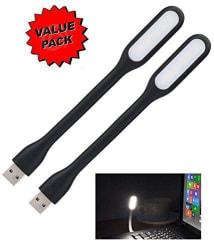 Storite 0.5W Light USB LED Light for Laptop PC Mobile Power bank Multicolour (Portable & Flexible) - Pack of 2