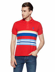 US Polo Association Men s Striped Regular Fit Polo