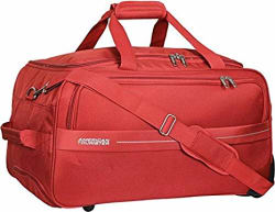 American Tourister Marco Polyester 64 cms Rust Travel Duffle (93O (0) 12 002)