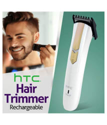 HTC AT-202 Beard Trimmer ( White )