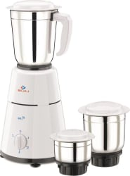 Bajaj GX1 500 W Mixer Grinder (White,3 Jars)