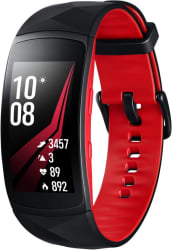 Samsung Gear Fit 2 Pro Smartband Red Strap, Size : Large