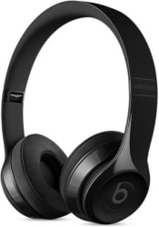 Beats Solo3 Bluetooth Headset with Mic (Gloss Black, On the Ear)