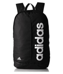 Adidas Black Canvas College Bags Backpacks- 20 Ltrs Gents Bag Carry Bag Men