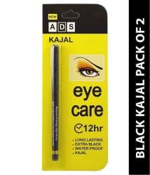 ADS Kajal Pencil Eye Care black 0.3 gm Pack of 2