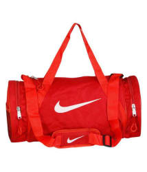 Nike Medium Nylon Gym Bag/Travel Bag For Men & Women Gym Bag