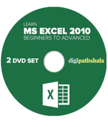 Learn Ms Excel 2010 from Beginner to Advanced Level 2 DVD Set (52 Video Lectures, 36 PDF s)