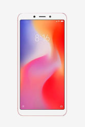 Xiaomi Redmi 6 32 GB (Rose Gold) 3 GB RAM, Dual SIM 4G