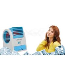 Vizio Mini USB Fragrance Air Cooling Fan, Portable Desktop Air Conditioner Mini Air Cooler (Assorted Color)