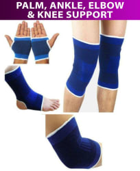Jaatara Palm, Ankle, Elbow & Knee Support Free Size