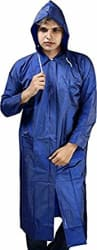 REXBURG Stylish Long Monsoon Rider Men s Rain Coat (Blue), Absolute Comfortable and Made with 100% Water Proof Material (XXL Size)