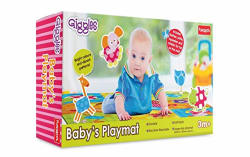 Giggles Baby s Playmat, Multi Color