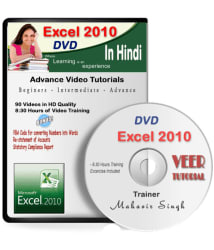 Excel 2010 Basic to Advance Video Training DVD