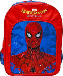 Marvel Red and Blue School Backpack (MBE-WDP0944)