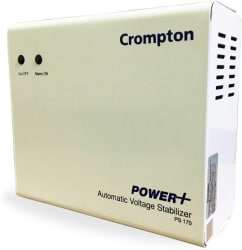 Crompton PS170V AC Voltage Stabilizer for Air Conditioners(White)