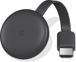 Google Chromecast 3 Media Streaming Device Black