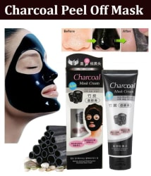 22K Charcoal Mask Anti Blackhead Facial Kit Peel Off Mask 130 gm