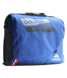 Adidas Blue Nylon Casual Messenger Bag
