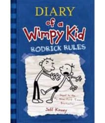 Diary Of A Wimpy Kid 2 : Rodrick Rules Paperback (English)