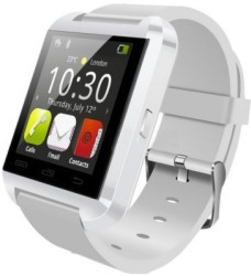 Bingo U8 Smartwatch White Strap Regular